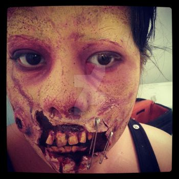 Zombie Makeup 2012 by bomb109
