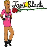 Tami Rose Black by jamesgannon