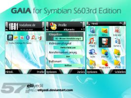 GAIA Theme for S60 3rd Edition by elliyedi