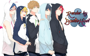 Iwatobi Swim Club by BastisHasi
