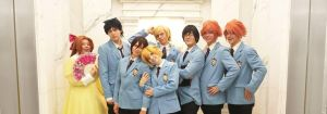 The Ouran High School Host Club by OotoriGroupCosplay
