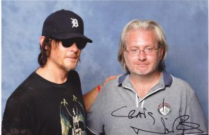 lfcc 2013 Norman Reedus and I by BiffTech
