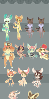 Huge Anthro Design Sale!! .:Set Price Stuff Open:. by Pieology