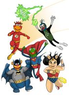 Muppet Justice League by MatthewPetz