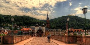 Heidelberg old Bridge by Eagle86