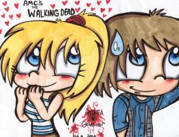 The Walking Dead: Smile by Violent-Rainbow
