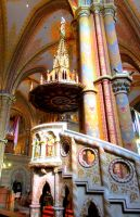 Colourful Pulpit by Syltorian