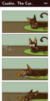 Cookie. The Cat. -- 14 -- by hickis