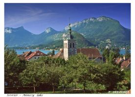 Talloires, annecy lake by bracketting94