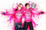 Aiden and dad breast cancer by DeathRage22
