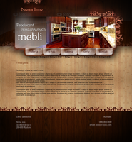 Website for manufacturer of exclusive furniture by eeb-pl