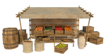 Market Stall 3, PNG by fumar-porros