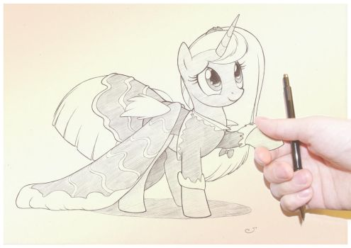 35. Hold My Hand by sherwoodwhisper