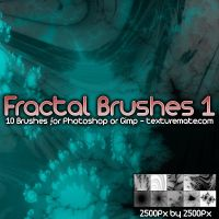 Fractal Brushes 1 by AscendedArts