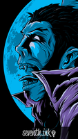 Lament of the Vampyre iPhone 5 Wallpaper by seventhfury