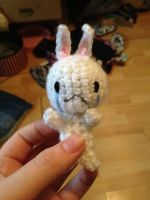 Sad Bunny Face Amigurumi by Pikacheekz