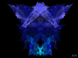 Something Blue: A Tribute For Gary Or Skyzyk by jccrfractals
