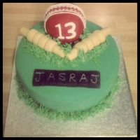 Cricket Birthday Cake by AdaBerry