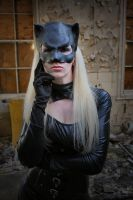 Catwoman by Red-Draken