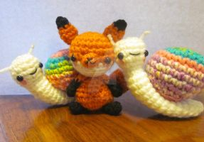 One of These Is Not Fox Edition by Spudsstitches
