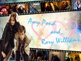 Amy and Rory Wallpaper by davids-little-star