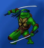 TMNT-Leonardo by RedTigress