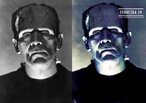 Frankenstein Before And After by JoseFerreira14