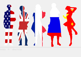 Hetalia - Free Allies Wallpaper by chordsandkeys