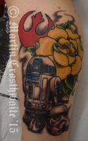 R2, rose and Trooper by mxw8