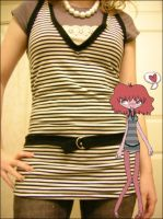 striped shirt by GRAMMAR
