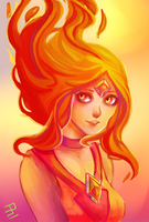 Flame Princess by zzpopzz