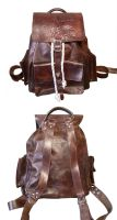 Leather Backpack by DanTheLefty