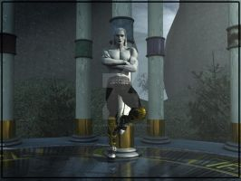 Kain at the Pillars WIP by 3D-Fantasy-Art