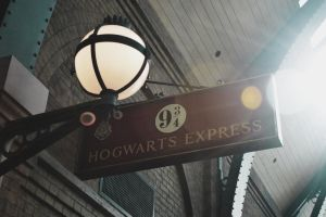 Hogwarts Express sign by plaguedyouth