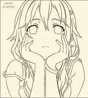 LINE ART INORI by VTZDESIGN