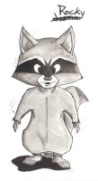 Rocky Raccoon by FireDestined4