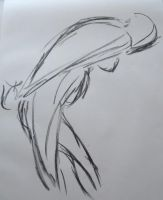 Gesture Drawing by TheLadyNerd
