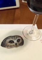 Owls and Wine by lxoetting