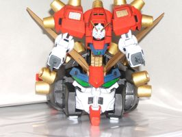 Devil Gundam Mobile Armor Mode by clem-master-janitor