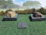 Panther Bunker Turrets by Baryonyx62