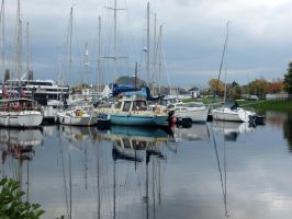 Caley Marina, Inverness by piglet365