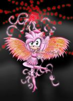 Amy Rose, Love angel.:Edit:. by puppyloverlani