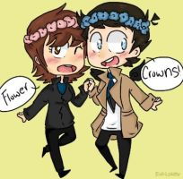 Com: Flower Crowns~ by Pecora-dolce