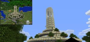 Southern Crossroads Tower (51% Complete) by Fesoferbex