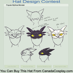 Cute Dragon Hat Design by silverllama
