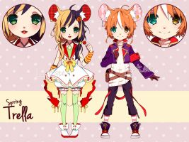 ADOPTABLES - Spring Trella batch01 [CLOSED] by inma