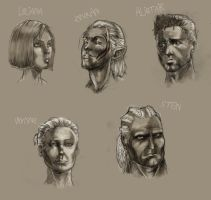 Dragon AGE: Origins FACES by Carromic