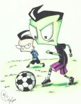 Soccer Game Zim by MoostarGazer