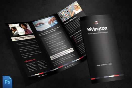 Rivington Tri Fold Brochure Template by quickandeasy1