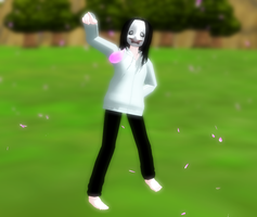 MMD: Jeff The Killer CAN DANCE! :D by NecroMasterSyl